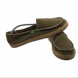 Sanuk Espadrille Flat Slip on Shoes